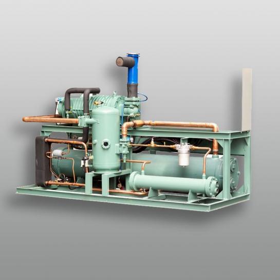 低温螺杆水冷机组